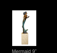 Simon Morris 9 inch Mermaid