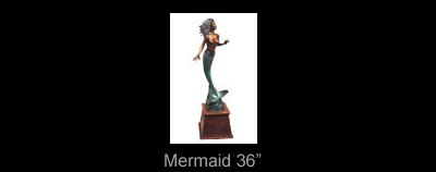Simon Morris 36 inch Mermaid